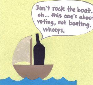 rock the vote boat